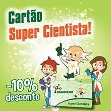 Cartão Super Cientista